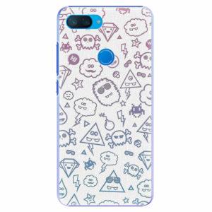 Plastový kryt iSaprio - Funny Clouds - Xiaomi Mi 8 Lite