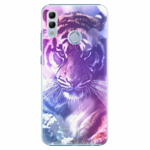 Plastový kryt iSaprio - Purple Tiger - Huawei Honor 10 Lite
