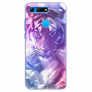 Plastový kryt iSaprio - Purple Tiger - Huawei Honor View 20