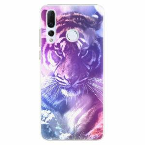 Plastový kryt iSaprio - Purple Tiger - Huawei Nova 4