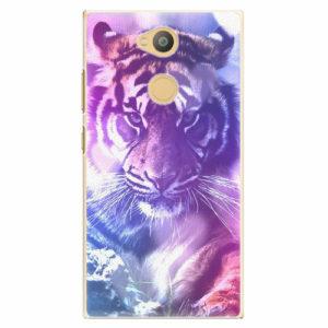 Plastový kryt iSaprio - Purple Tiger - Sony Xperia L2