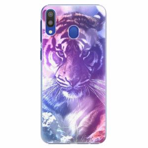 Plastový kryt iSaprio - Purple Tiger - Samsung Galaxy M20