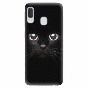 Plastový kryt iSaprio - Black Cat - Samsung Galaxy A20e