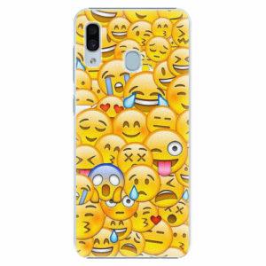 Plastový kryt iSaprio - Emoji - Samsung Galaxy A30