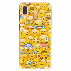 Plastový kryt iSaprio - Emoji - Samsung Galaxy A40