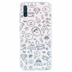 Plastový kryt iSaprio - Funny Clouds - Samsung Galaxy A50