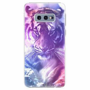 Plastový kryt iSaprio - Purple Tiger - Samsung Galaxy S10e
