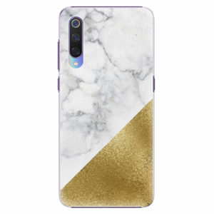 Plastový kryt iSaprio - Gold and WH Marble - Xiaomi Mi 9