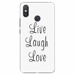 Plastový kryt iSaprio - Live Laugh Love - Xiaomi Mi Max 3