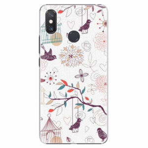 Plastový kryt iSaprio - Birds - Xiaomi Mi Max 3