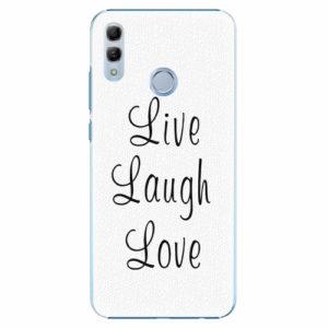 Plastový kryt iSaprio - Live Laugh Love - Huawei Honor 10 Lite