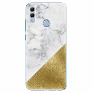 Plastový kryt iSaprio - Gold and WH Marble - Huawei Honor 10 Lite