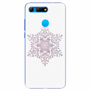 Plastový kryt iSaprio - Snow Flake - Huawei Honor View 20