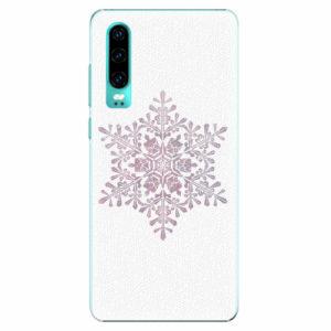 Plastový kryt iSaprio - Snow Flake - Huawei P30