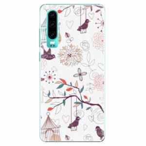 Plastový kryt iSaprio - Birds - Huawei P30