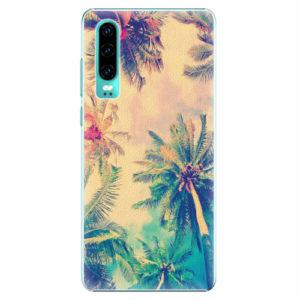 Plastový kryt iSaprio - Palm Beach - Huawei P30