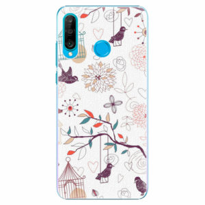 Plastový kryt iSaprio - Birds - Huawei P30 Lite