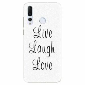 Plastový kryt iSaprio - Live Laugh Love - Huawei Nova 4