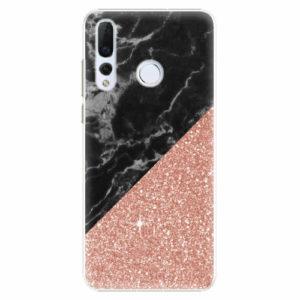 Plastový kryt iSaprio - Rose and Black Marble - Huawei Nova 4