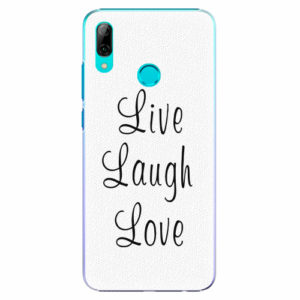 Plastový kryt iSaprio - Live Laugh Love - Huawei P Smart 2019
