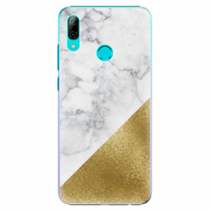Plastový kryt iSaprio - Gold and WH Marble - Huawei P Smart 2019