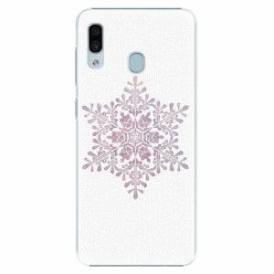 Plastový kryt iSaprio - Snow Flake - Samsung Galaxy A30