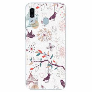 Plastový kryt iSaprio - Birds - Samsung Galaxy A30