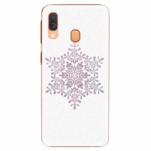 Plastový kryt iSaprio - Snow Flake - Samsung Galaxy A40