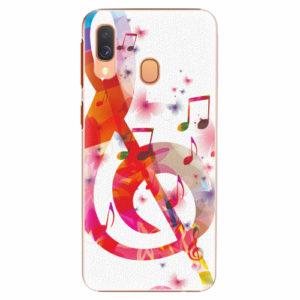 Plastový kryt iSaprio - Love Music - Samsung Galaxy A40
