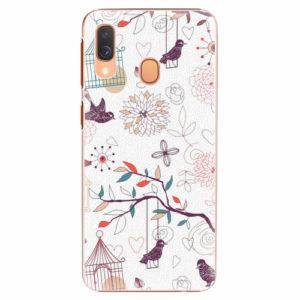 Plastový kryt iSaprio - Birds - Samsung Galaxy A40