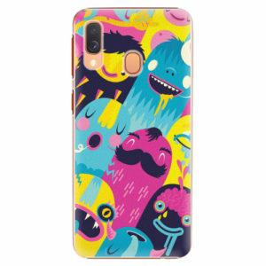 Plastový kryt iSaprio - Monsters - Samsung Galaxy A40