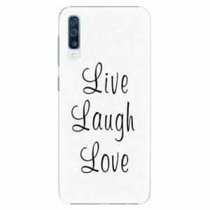 Plastový kryt iSaprio - Live Laugh Love - Samsung Galaxy A50