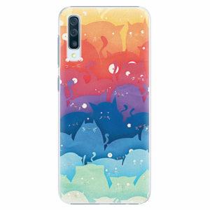 Plastový kryt iSaprio - Cats World - Samsung Galaxy A50