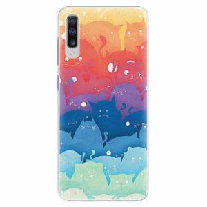 Plastový kryt iSaprio - Cats World - Samsung Galaxy A70
