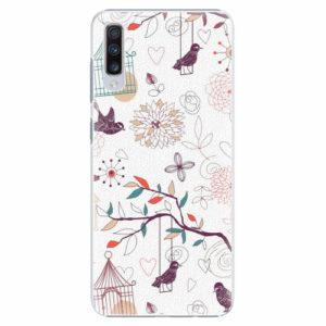 Plastový kryt iSaprio - Birds - Samsung Galaxy A70