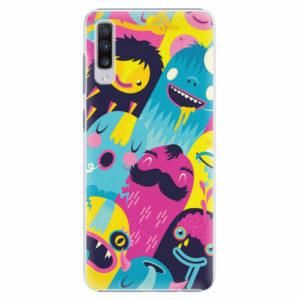 Plastový kryt iSaprio - Monsters - Samsung Galaxy A70