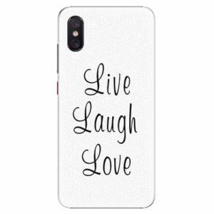 Plastový kryt iSaprio - Live Laugh Love - Xiaomi Mi 8 Pro