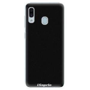Plastový kryt iSaprio - 4Pure - černý - Samsung Galaxy A30