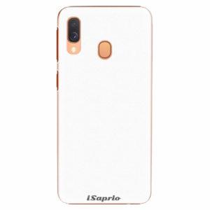 Plastový kryt iSaprio - 4Pure - bílý - Samsung Galaxy A40