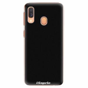 Plastový kryt iSaprio - 4Pure - černý - Samsung Galaxy A40