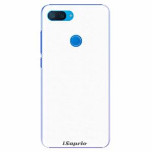 Plastový kryt iSaprio - 4Pure - bílý - Xiaomi Mi 8 Lite
