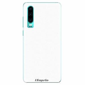 Plastový kryt iSaprio - 4Pure - bílý - Huawei P30