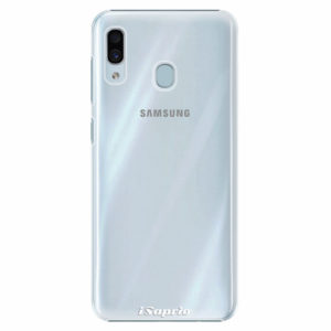Plastový kryt iSaprio - 4Pure - průhledný matný - Samsung Galaxy A30