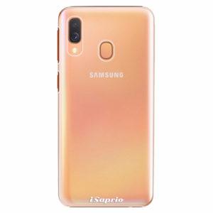 Plastový kryt iSaprio - 4Pure - průhledný matný - Samsung Galaxy A40