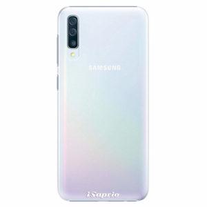 Plastový kryt iSaprio - 4Pure - průhledný matný - Samsung Galaxy A50