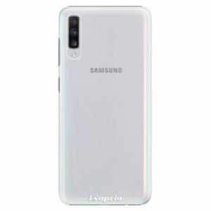 Plastový kryt iSaprio - 4Pure - průhledný matný - Samsung Galaxy A70