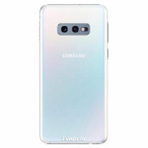 Plastový kryt iSaprio - 4Pure - průhledný matný - Samsung Galaxy S10e