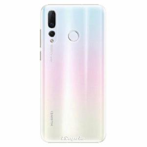 Plastový kryt iSaprio - 4Pure - průhledný matný - Huawei Nova 4