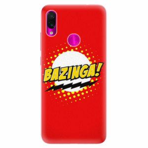 Silikonové pouzdro iSaprio - Bazinga 01 - Xiaomi Redmi Note 7