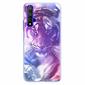 Plastový kryt iSaprio - Purple Tiger - Huawei Honor 20
